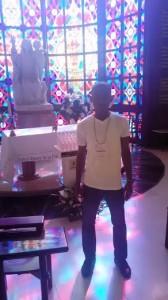 Sossou au cœur de la basilique
