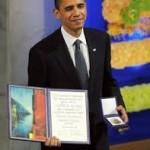 obama reçoit le prix Nobel de la paix.Crédit photo imet.net