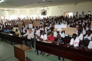 grève des étudiants en science de la santé