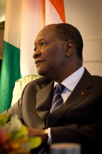 le président Ouattara.crédit photo.www.flickr.com