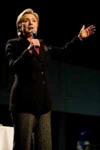 Hillary Clinton favorite pour les primeires démocrates.crédit phot www.flickr.com