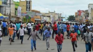 manifestation du peuple burundais contre Nkurunziza
