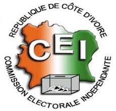 logo de la commission électorale independante.www.cei.org