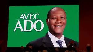 Avec ADO, le slogan d'Alassane Ouattara