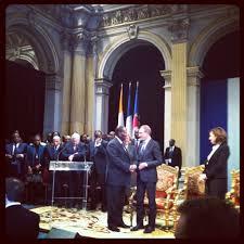 Alassane Ouattara et Bertrabd Delanoé. creditphoto.flickr.com