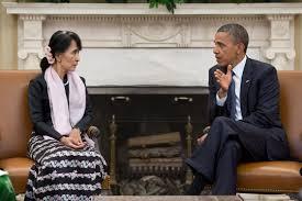 Han San Suki et Barack Obama. crédit wikipediacom